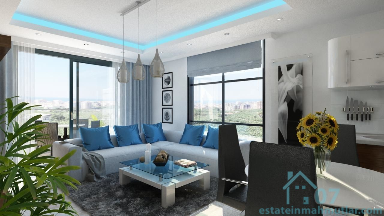 Three Bedroom Apartments In A Luxury Residential Complex Near The Beach Estate In Mahmutlar