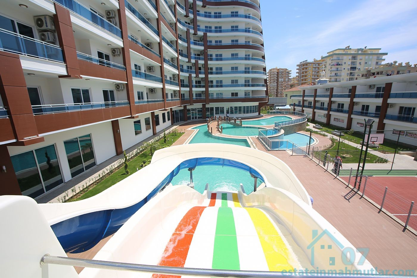 Four Bedroom Apt In A Modern Residential Complex Of Luxury Located On The Shore Of The Mediterranean Sea
