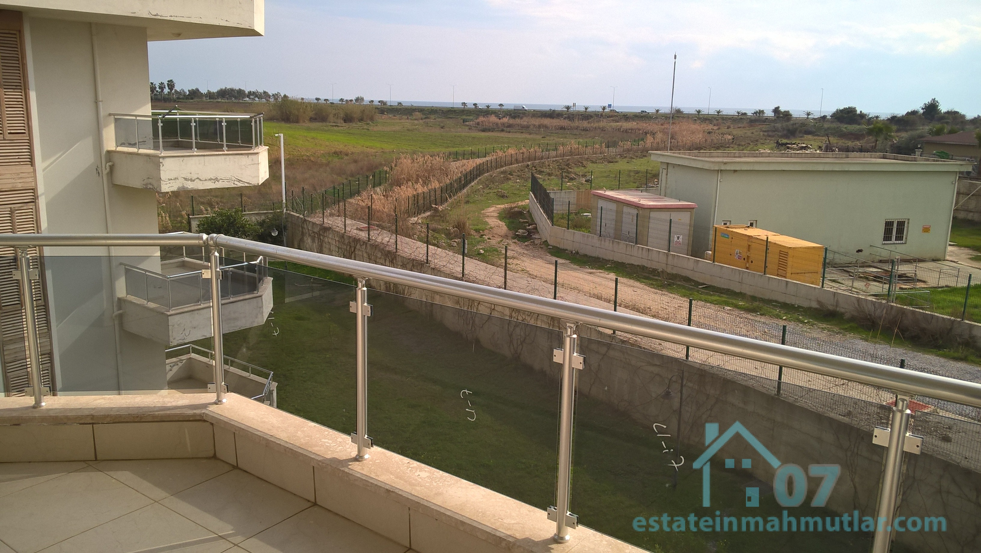 Beautiful Three Bedroom Duplex with A Sea View in Turkler Region of Alanya