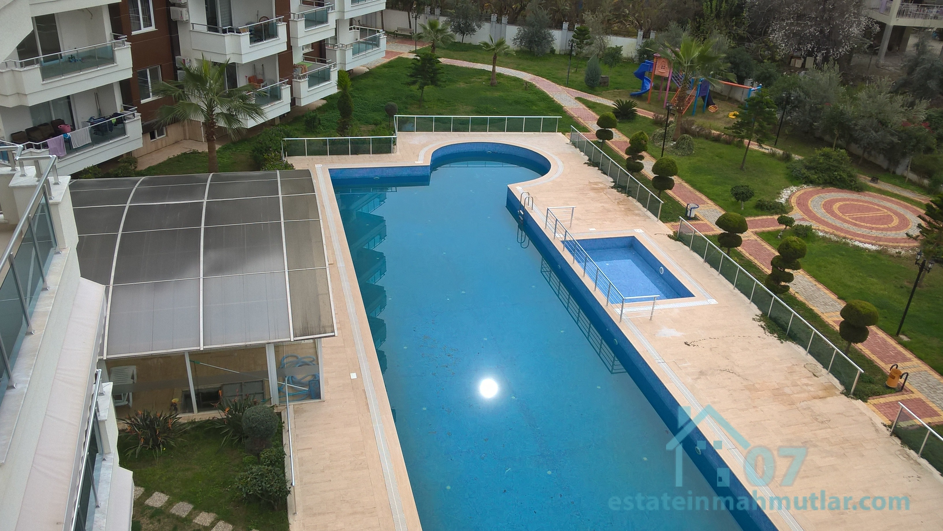 Luxurious Pool View Apartment in the Mahmutlar district of Alanya, Antalya